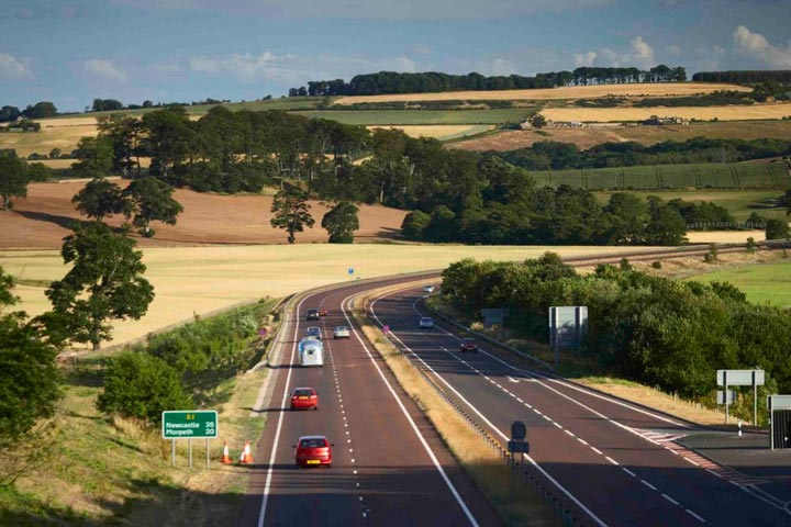 A1 in Northumbria