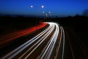 Speeding - M25 at Night