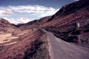 Road to Llyn Brianne