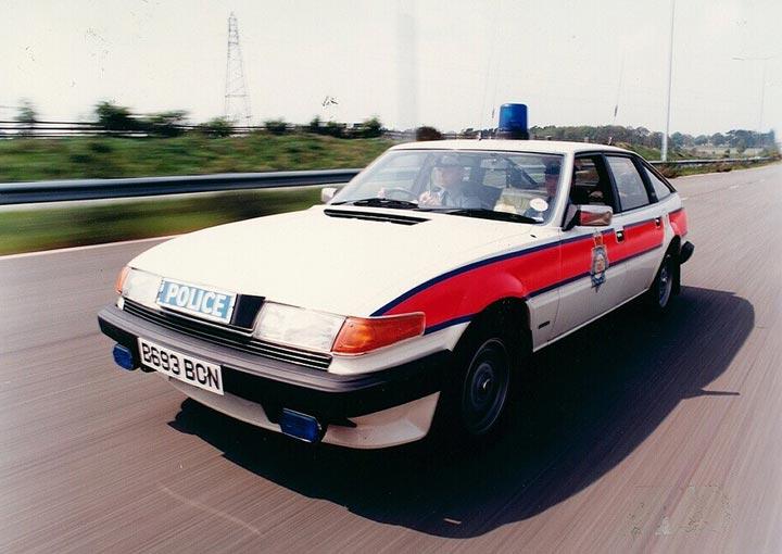 Traffic Car c.1985 by West Midlands Police