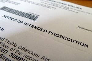 Notice of Intended Prosecution